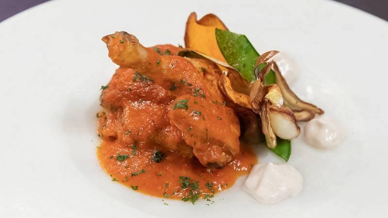 "Receta de ""coquelette repescado"" de pollo con tomate de María"
