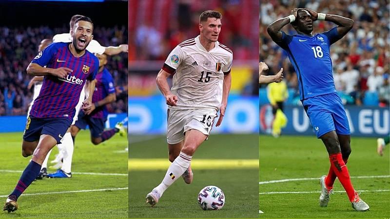 Jordi Alba, Meunier y Sissoko, jugadores que cambiaron de destino tras la Eurocopa