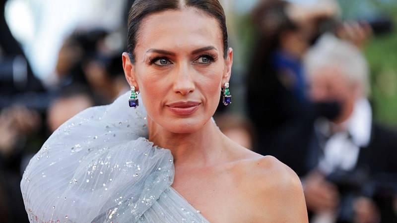 Nieves Álvarez de Elie Saab en el Festival de Cannes