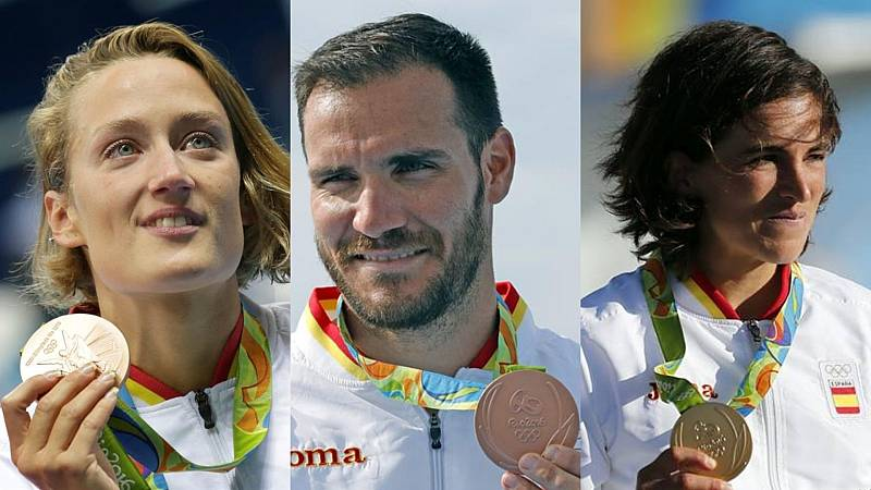 Belmonte, Craviotto y Chourraut, algunos de los deportistas españoles que podrían repetir medalla
