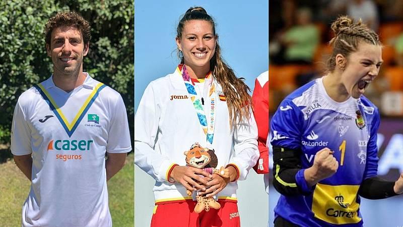 Mario Garín, Laura Heredia y Nicole Wiggins son algunos de los reservas españoles