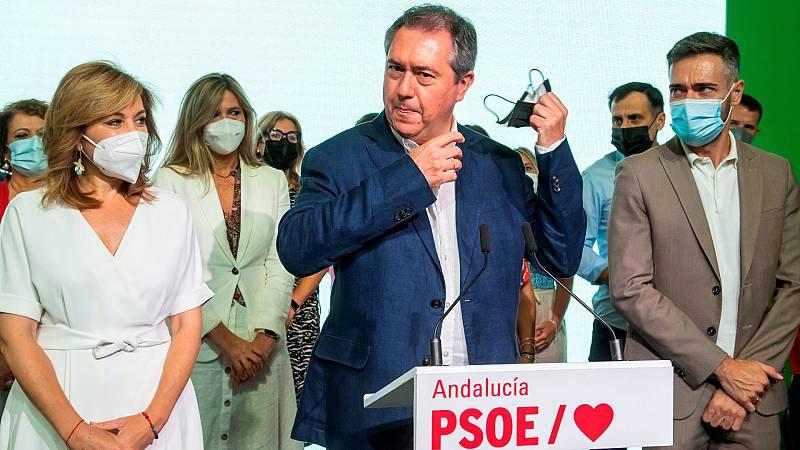 Juan Espadas, proclamado secretario general del PSOE-A, presenta a su equipo