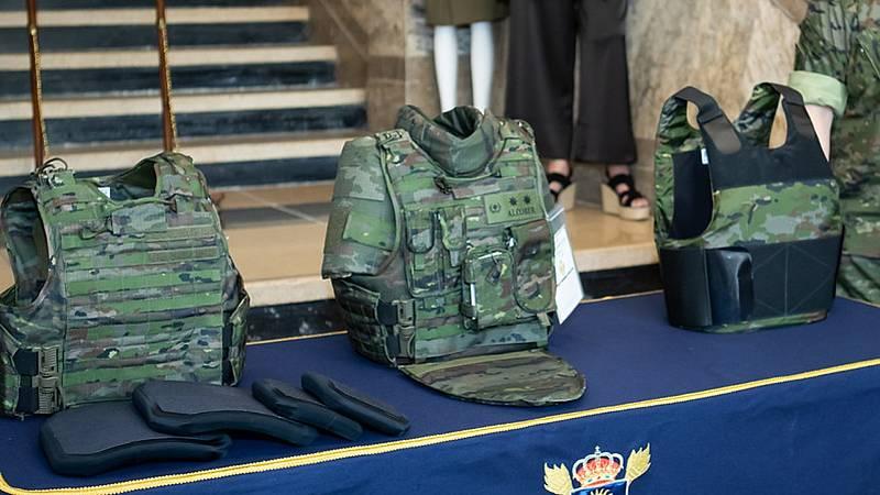 El nuevo chaleco para mujeres militares