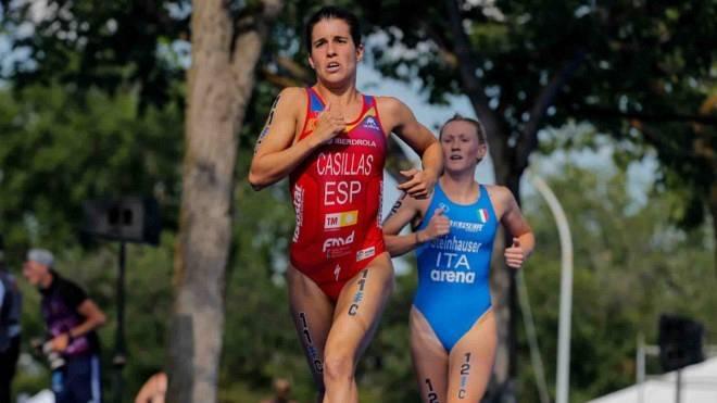 Miriam Casillas será una de las bazas españolas en esta prueba de triatlón femenino