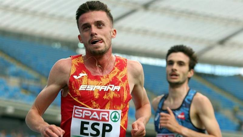 Imagen de archivo del atleta español Carlos Mayo.