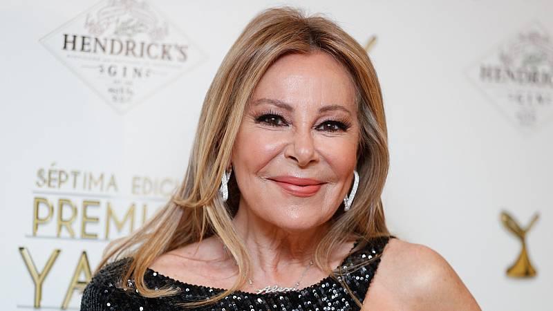 La actriz y presentadora Ana Obregón