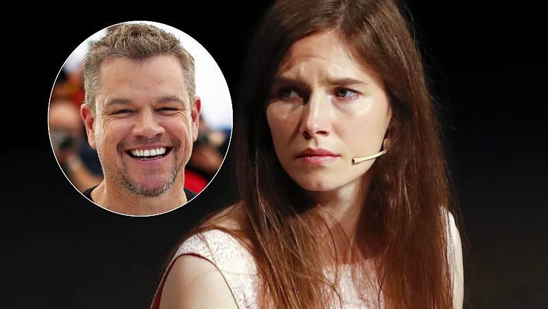 Amanda Knox se siente utilizada por la película de Matt Damon