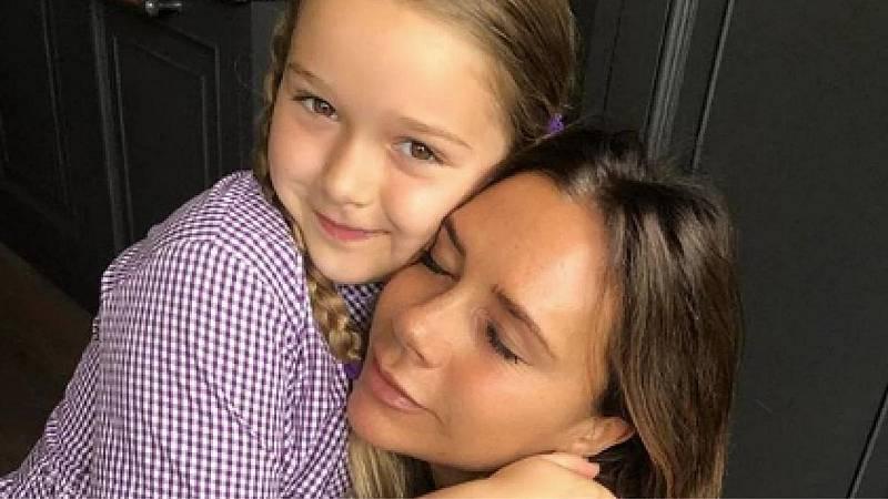 Victoria Beckham y su hija Harper
