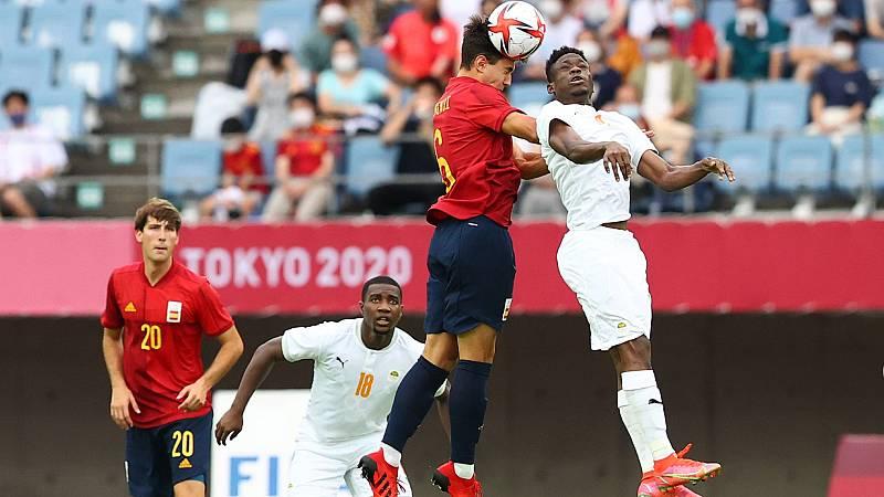 España encaja el primer gol ante Costa de Marfil