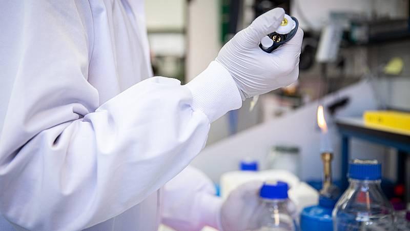 Laboratorio de coronavirus del Centro Nacional de Biotecnología del CSIC.