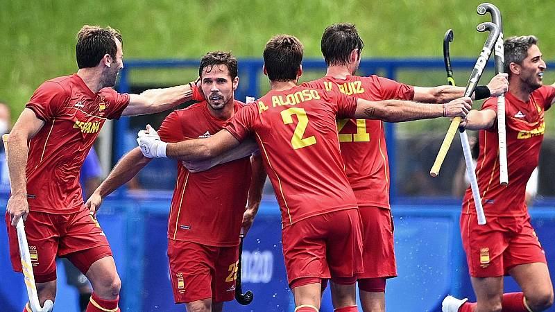 Los 'Red Sticks' se juegan el pase a la semifinal en su duelo contra Bélgica