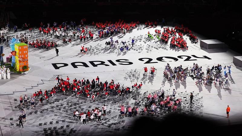 remonia de clausura de los Juegos Paralímpicos de Tokyo 2020