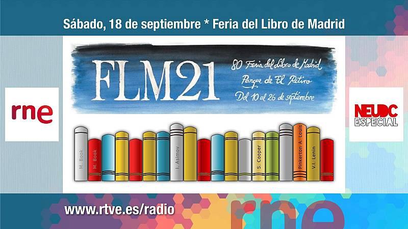 RNE en la Feria del Libro de Madrid