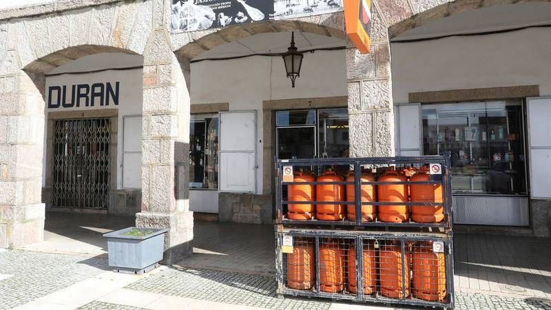 Venta de bombonas de butano cerca de la frontera portuguesa