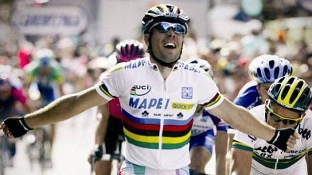 Imagen de archivo del tricampeón del mundo, Óscar Freire.