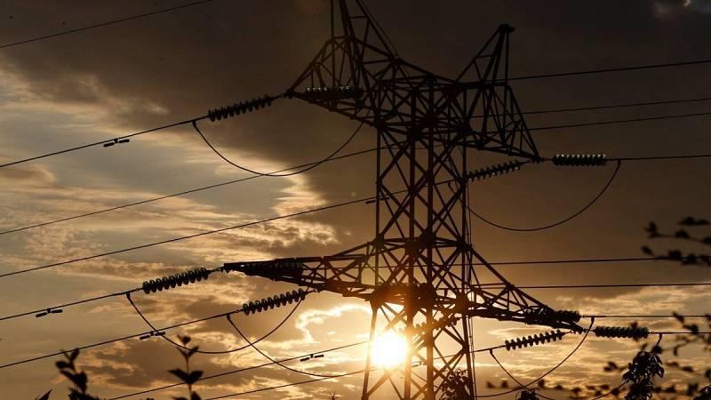Torre de transporte de energía perteneciente a red eléctrica.