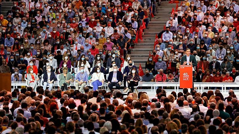 El PSOE cierra heridas, encumbra a Bolaños y coge la bandera del feminismo