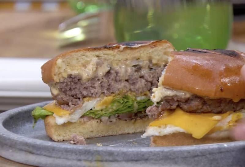 Receta de hamburguesa de ternera de Juanma Castaño