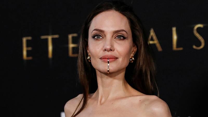 Angelina Jolie en la premiere de 'Eternals'