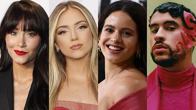 Aitana, Ana Mena, Rosalía y Bad Bunny, nominados a los MTV EMA 2021