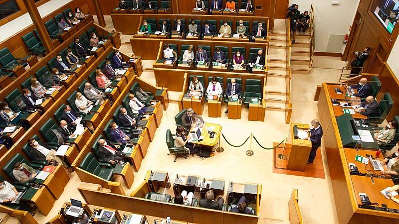 Imagen de archivo del Parlamento Vasco.EFE/ David Aguilar