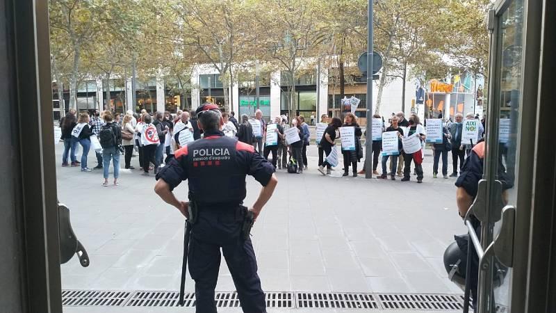 Protestes pel decret d'eòliques