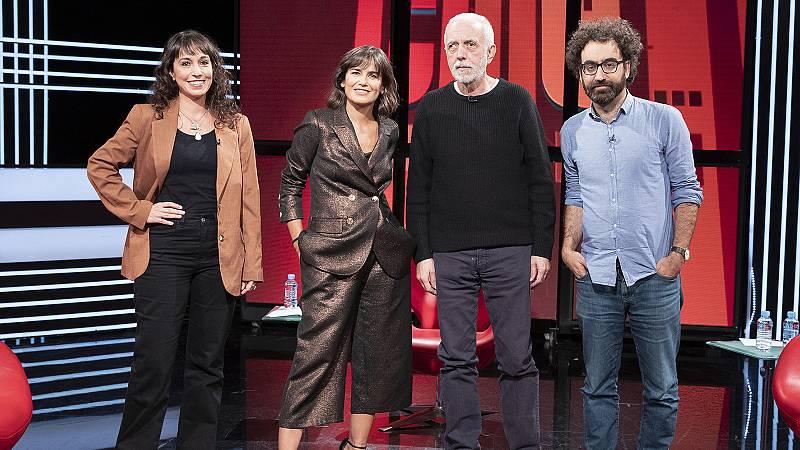 Fernando Trueba, Julia Sabina Gutiérrez, Luis Parés y Elena S. Sánchez