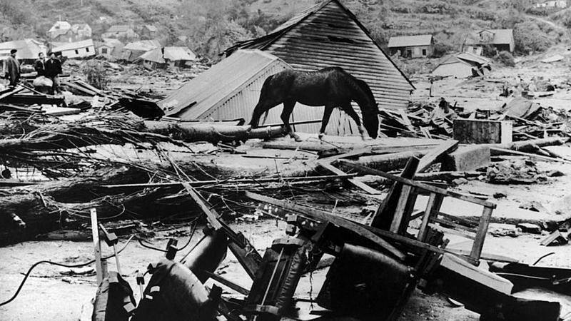El terremoto de Valdivia en 1960