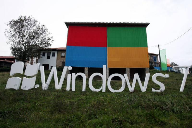 Para el lanzamiento Windows ha grabado una serie de videos virales en los que los aldeanos han sido los protagonistas