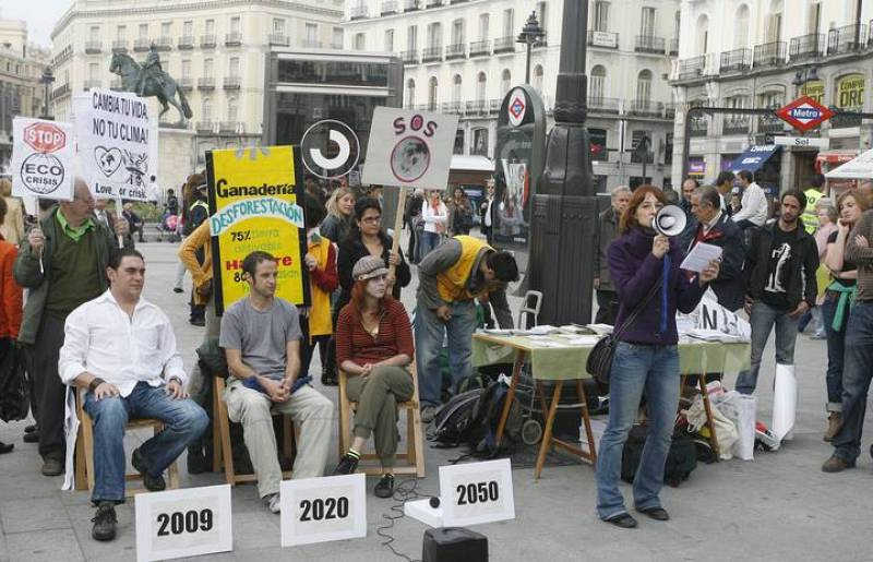 ONG ALERTAN DEL EFECTO DEL CAMBIO CLIMÁTICO Y PIDEN AL GOBIERNO QUE DESPIERTE