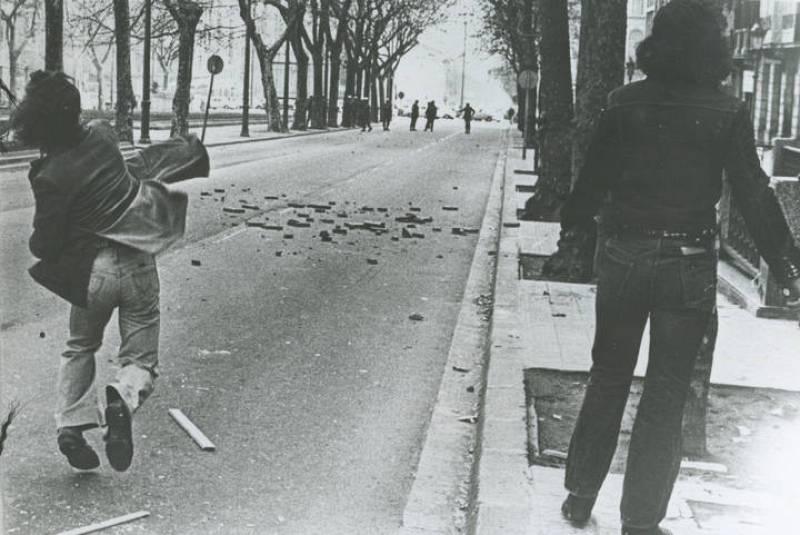 Manifestaciones en Barcelona, 1976