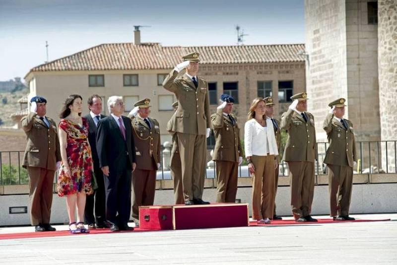 EL PRÍNCIPE HA PRESIDIDO LA INAUGURACIÓN DEL MUSEO EN EL ALCÁZAR DE TOLEDO