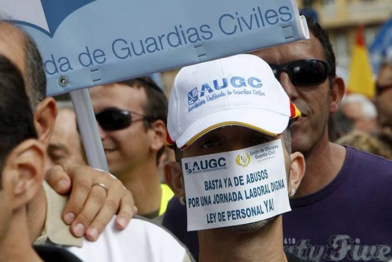 MANIFESTACIÓN CONVOCADA POR LAS ASOCIACIONES DE GUARDIAS CIVILES