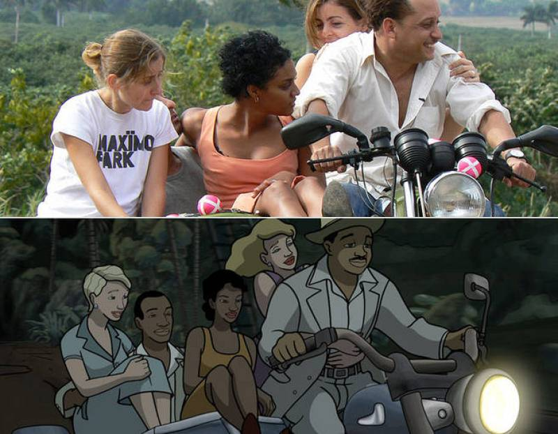 """""""Hemos rodado 'Chico y Rita con actores'"""