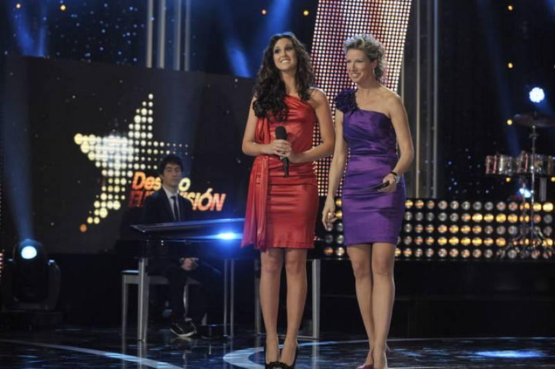 """Melissa y Anne Igartiburu antes de ser valorada por su interpretación de """"Sueños Rotos"""""""