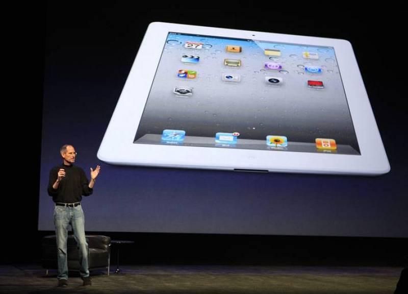 Otra de las novedades del iPad 2 es que también estará disponible en blanco y llegará a España a partir del próximo 25 de marzo