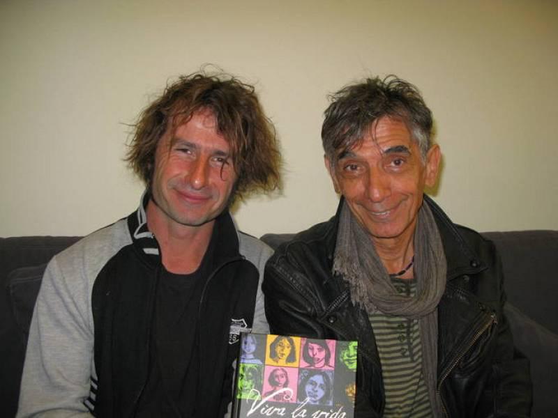 Edmond Baudoin y Jean-Marc-Troubel, autores de 'Viva la vida'