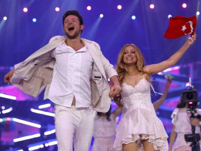 Ell y Nikki Celebran el triunfo