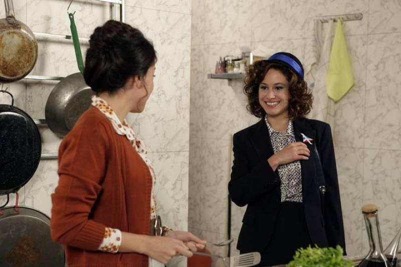 Paquita se reencuentra con Françoise, la hija de Miguel. Cuéntame cómo pasó