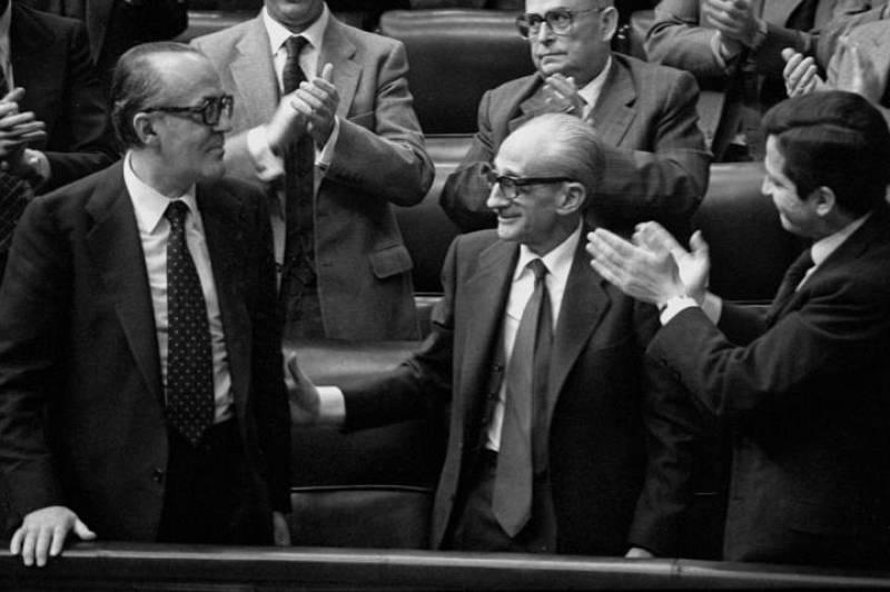 Calvo Sotelo fue elegido presidente del Gobierno el 25 de febrero de 1981.