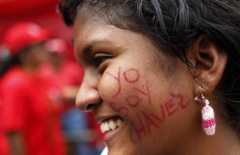 Manifestación Chávez 2