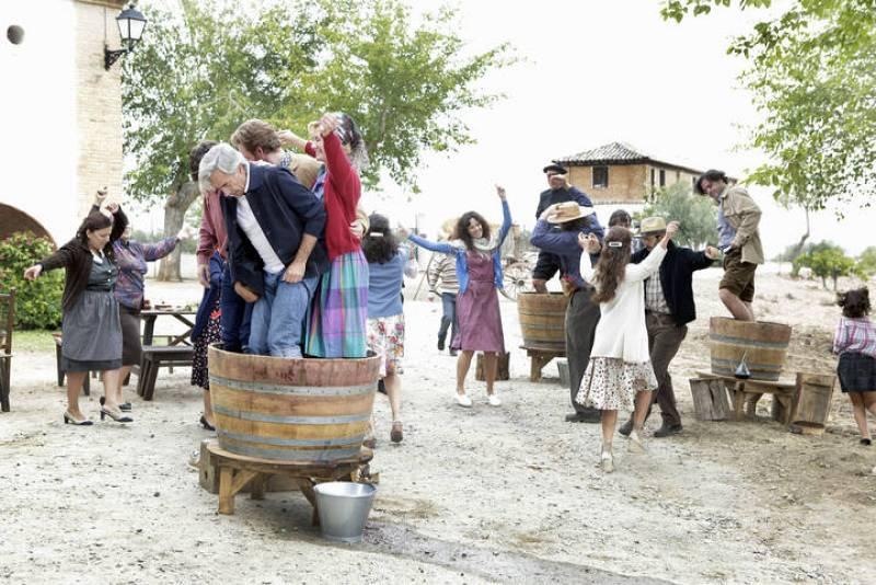 Los Alcántara, de vendimia en Sagrillas