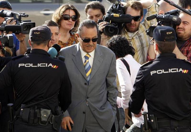 El exalcalde de Marbella, Julián Muñoz, llega a los juzgados