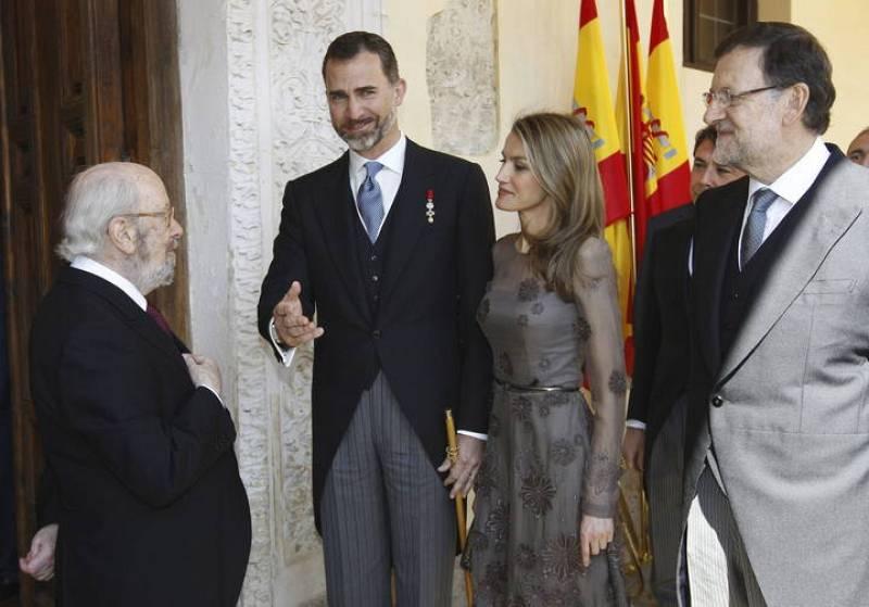 CABALLERO BONALD RECIBE HOY EL PREMIO CERVANTES DE MANOS DEL PRÍNCIPE FELIPE