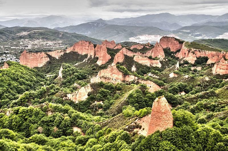 España A Ras de Cielo - España vista como un arcoiris. La España que no vemos