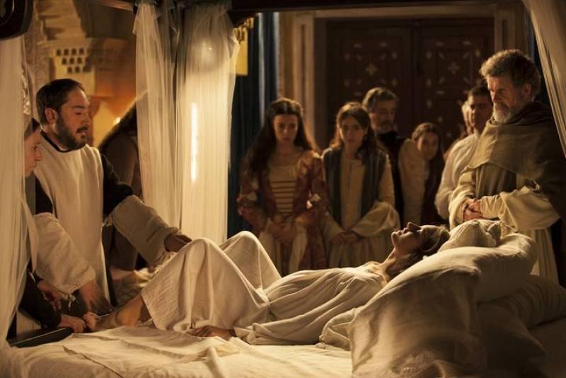Isabel La Católica de parto