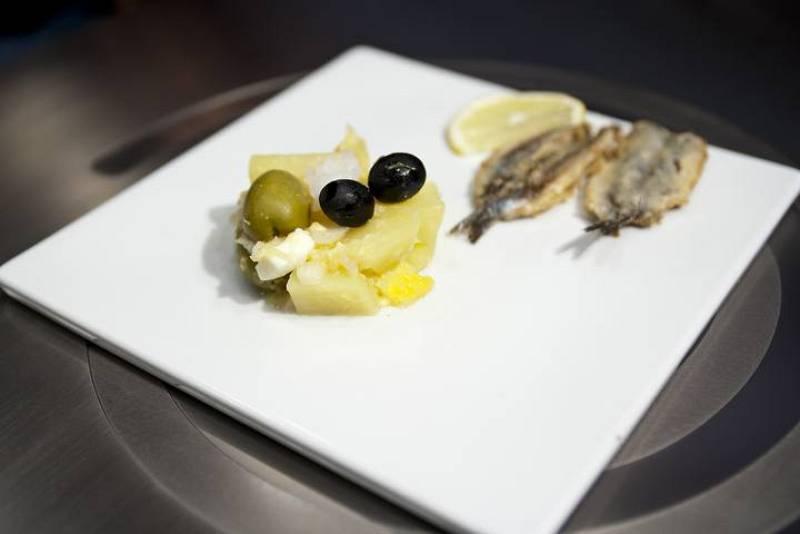 MasterChef Junior- Ensalada malagueña y boquerones al limón