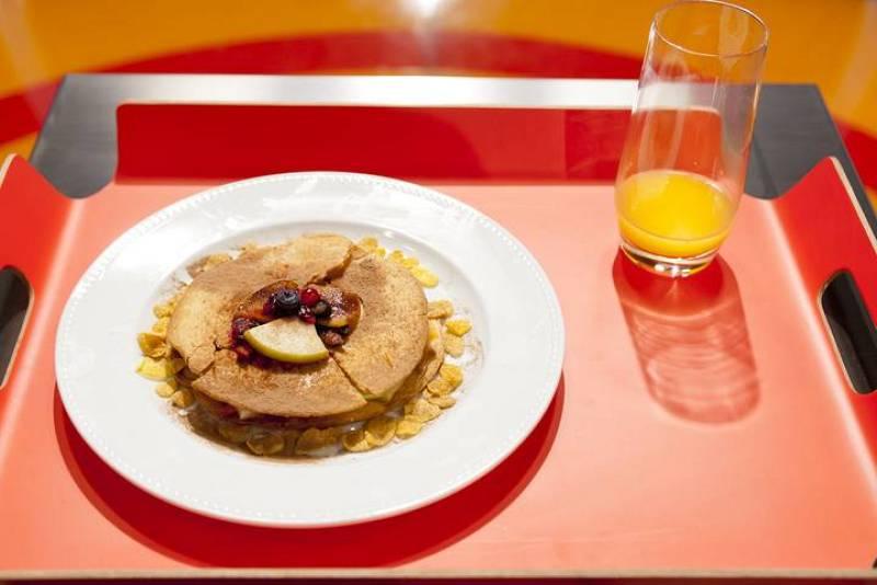 MasterChef Junior - Tartaleta de fruta y verduras con miel y cacao en polvo