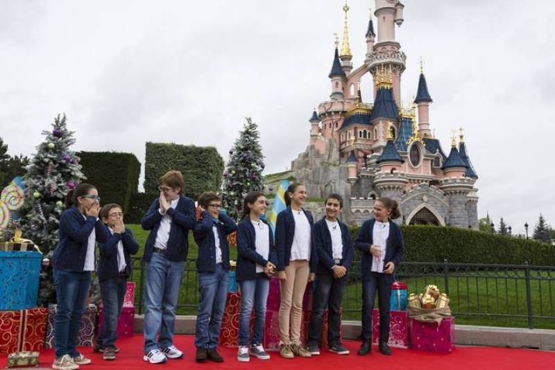MasterChef Junior - Programa 3. Disneyland París