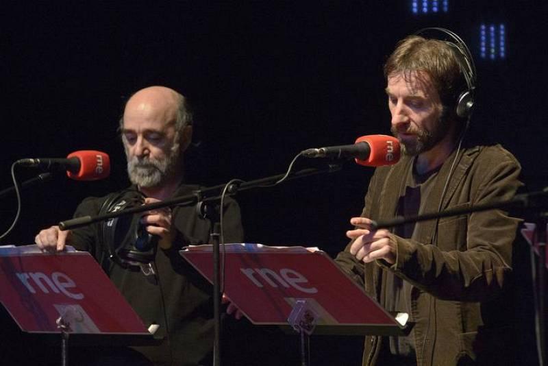 Álex Angulo y Antonio de la Torre durante la representación